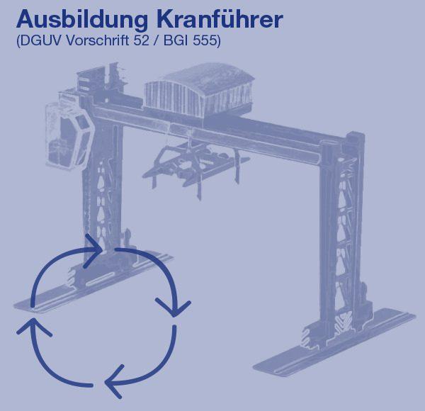 Ausbildung Kranführer (DGUV Vorschrift 52 / BGI 555)