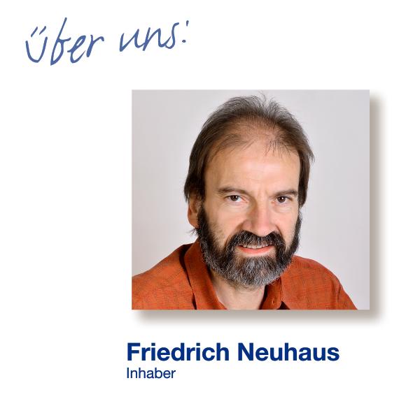 Inhaber Friedrich Neuhaus