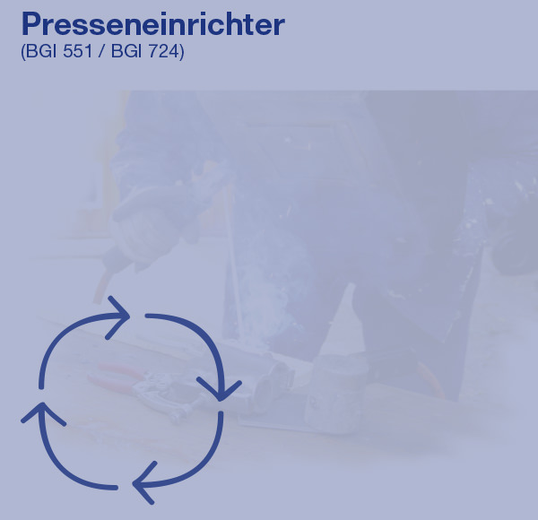 Presseneinrichter (BGI 551 / BGI 724)